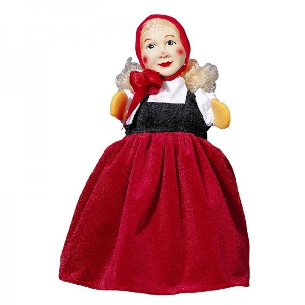 Rotkäppchen   Handpuppen Kersa Micha