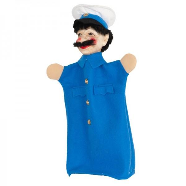 Polizist blau | Handpuppen Kersa Micha