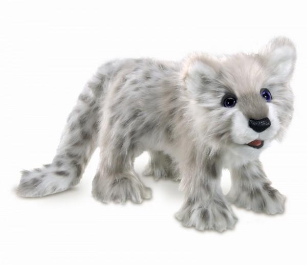 Folkmanis Baby Schneeleopard