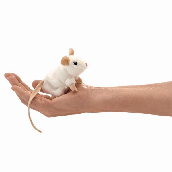 Folkmanis Mini weiße Maus
