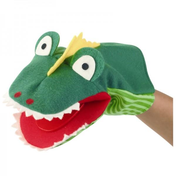 Krokodil Klappi | Handpuppen Kersa Classic