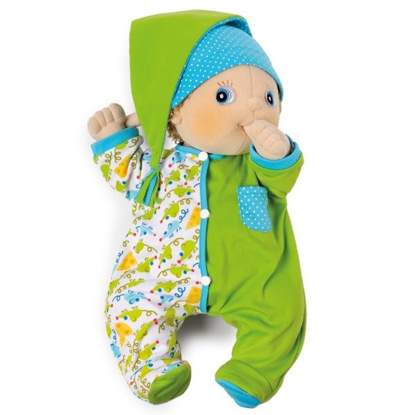 Rubens Baby Accessoires - Cozy Green Pajamas