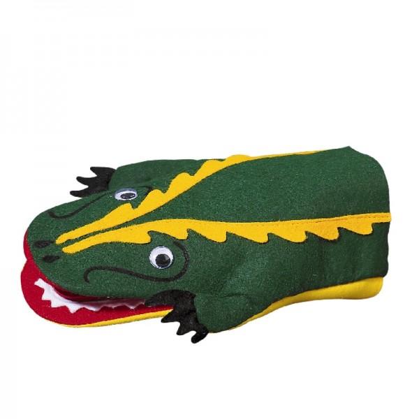Krokodil klappert | Handpuppen Kersa Classic