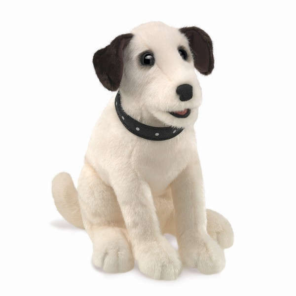 Folkmanis Terrier, sitzend